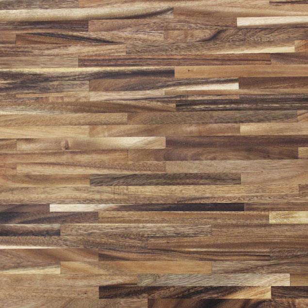 Reclaimed Acacia Metro Paneling with Oil Finish