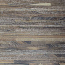 Reclaimed Acacia Metro Paneling with Wire White Finish