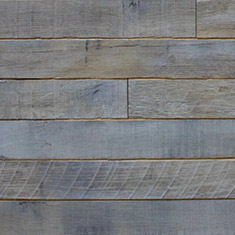 Reclaimed Oak Shiplap Paneling - White Oil Finish