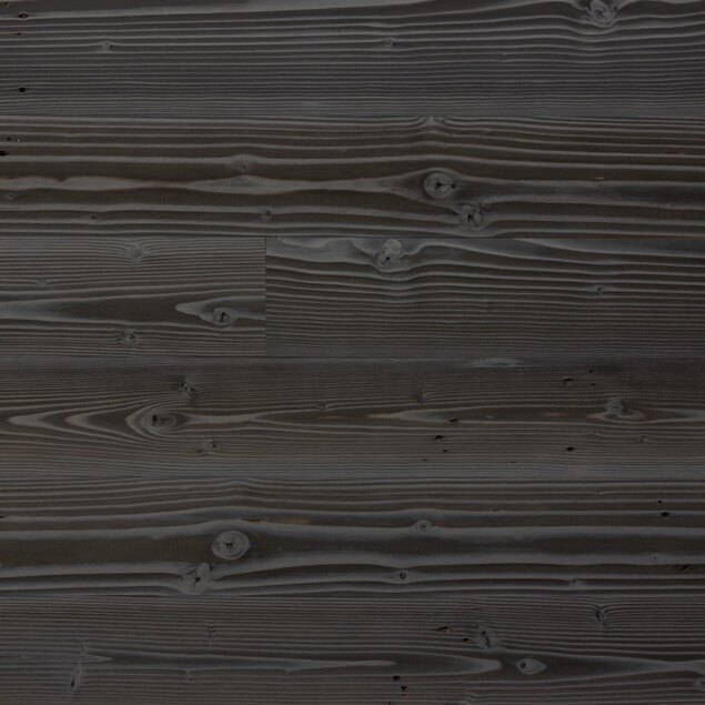 Reclaimed Doug Fir Paneling with Shou Sugi Ban finish