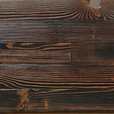 Reclaimed Doug Fir Paneling - Black