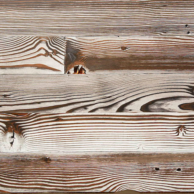 Reclaimed Doug Fir Paneling - White