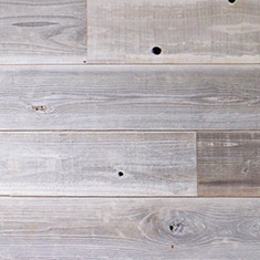 Reclaimed Redwood Shiplap Paneling - Fog Finish