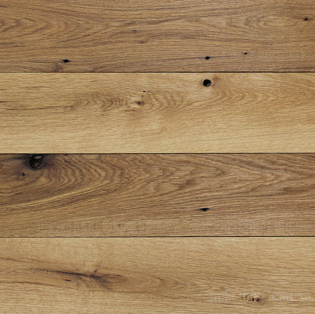 Reclaimed White Oak Solid Flooring with Clear Oil