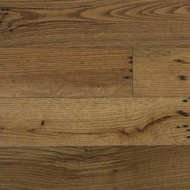 Reclaimed Oak Paneling with Dark Oil Finish