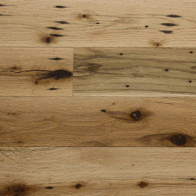 Reclaimed Red Oak Paneling with Oil Finish