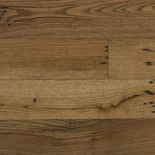 Reclaimed Oak Engineered Flooring & Paneling with Dark Oil Finish