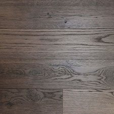 Reclaimed Oak Paneling with Dark Leather Finish