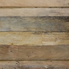 Reclaimed Peroba Paneling with Sandblasted Finish