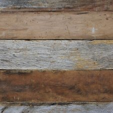 Reclaimed Peroba Paneling with Weathered Finish