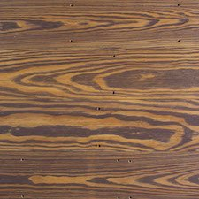 Reclaimed Pine Paneling with Chocolate Brown Tinted Oil Finish