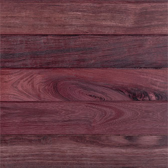 Reclaimed Purpleheart Siding - Oil