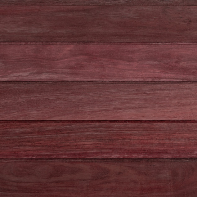 Reclaimed Purpleheart Siding - Rainscreen