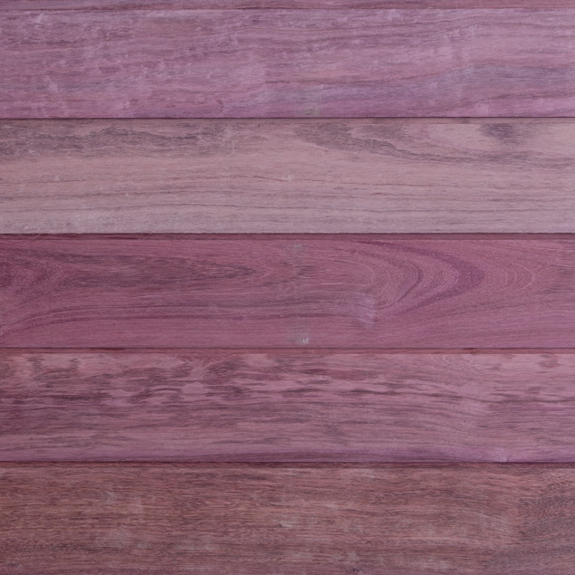 Reclaimed Purpleheart Siding - Oil