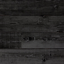 Reclaimed Redwood Shiplap Paneling - Charcoal Finish