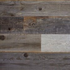 Reclaimed Weathered Redwood Paneling with Weathered Filet Finsih