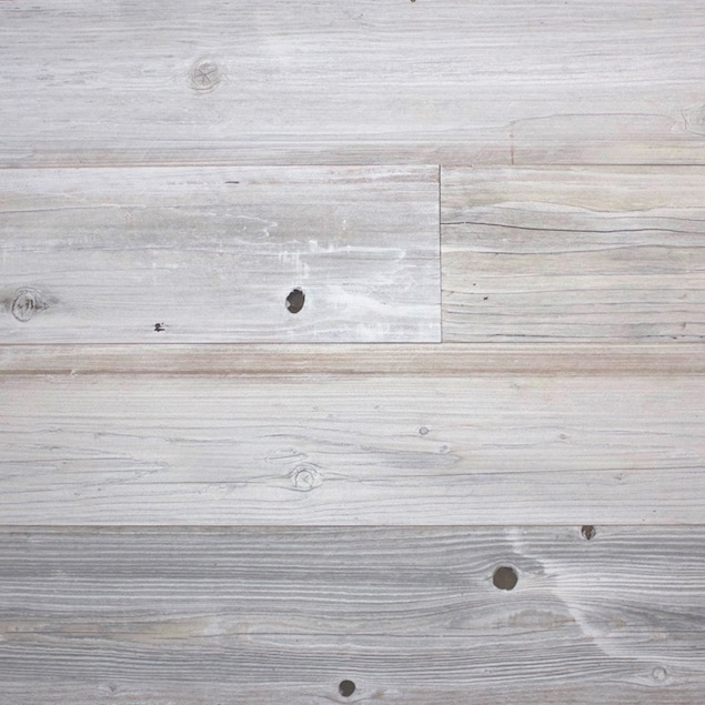 Reclaimed Redwood Barn Wood with with Light Gray Finish