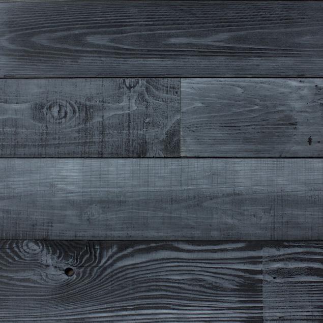 Reclaimed Shou Sugi Ban Redwood