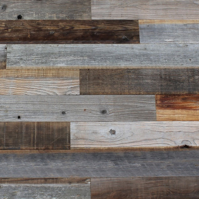 Reclaimed Redwood Barn Wood with Weathered Finish