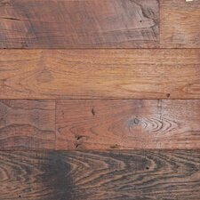 Reclaimed Naked Teak Paneling with Oil Finish