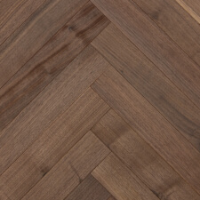 Reclaimed Walnut Herringbone Engineered with Oil Finish