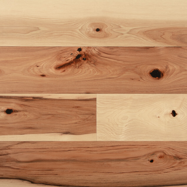 Wide Plank Hickory - Poly